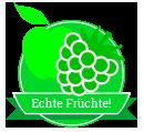 blackbar, Der Frucht-Nuss-Super-Mix in Riegelform!, Icon, Echte Früchte